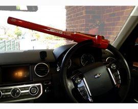 For Sale – Kraco Nightstick Autobar Car Steering Wheel Lock
