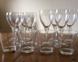 A Complete Set of Vanmaster Glasses For Sale