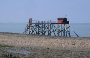 A typical West Coast fishing platform