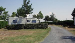 Our caravan on site