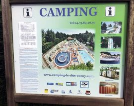 Les Clos Auroy – site review of this Auvergne campsite