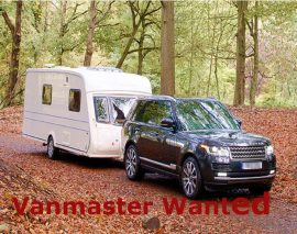 Vanmaster 640 – Fixed Bed Caravan Wanted